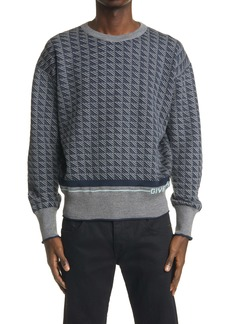 Givenchy Geo Pattern Wool Sweater