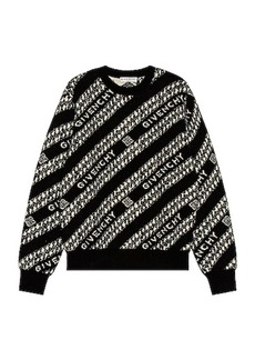 Givenchy Givenchy Chain Crew Neck Sweater