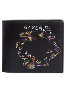 Givenchy Glitch Leather Wallet