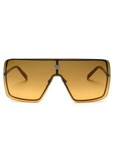Givenchy Gradient-lens metal shield sunglasses