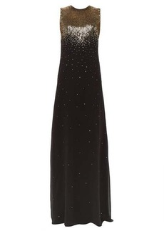 Givenchy Gradient sequin silk-georgette gown