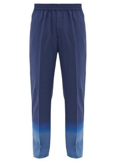 Givenchy Gradient wool-twill tailored trousers
