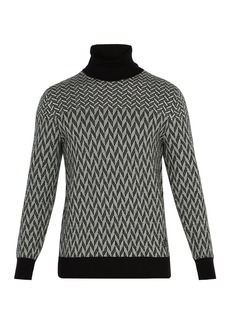 Givenchy Graphic cotton sweater