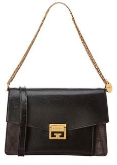 Givenchy Gv3 Medium Leather & Suede Shoulder Bag