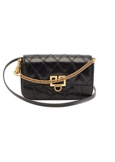 Givenchy GV3 mini leather cross-body bag