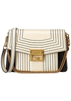 Givenchy Gv3 Small Panelled Leather Shoulder Bag