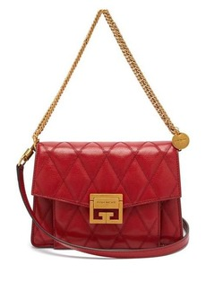 Givenchy GV3 small quilted leather cross-body bag