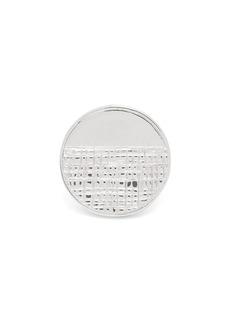 Givenchy Half-engraved circle ring