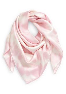Givenchy Heart Logo Tie Dye Silk Scarf