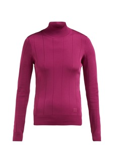 Givenchy High-neck stretch-knit top