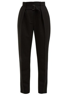 Givenchy High-rise tapered wool trousers