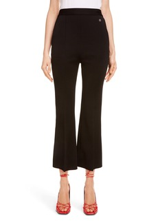 Givenchy High Waist Crop Flare Pants