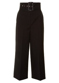 Givenchy High-waisted wool culottes