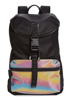 Givenchy Holographic Nylon Backpack
