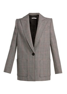Givenchy Houndstooth wool jacket