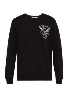 Givenchy Icarus-print cotton sweatshirt
