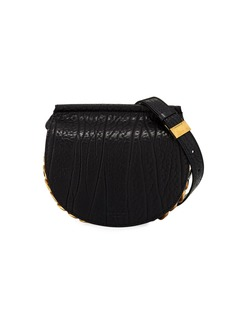 Givenchy Infinity Mini Leather Saddle Bag
