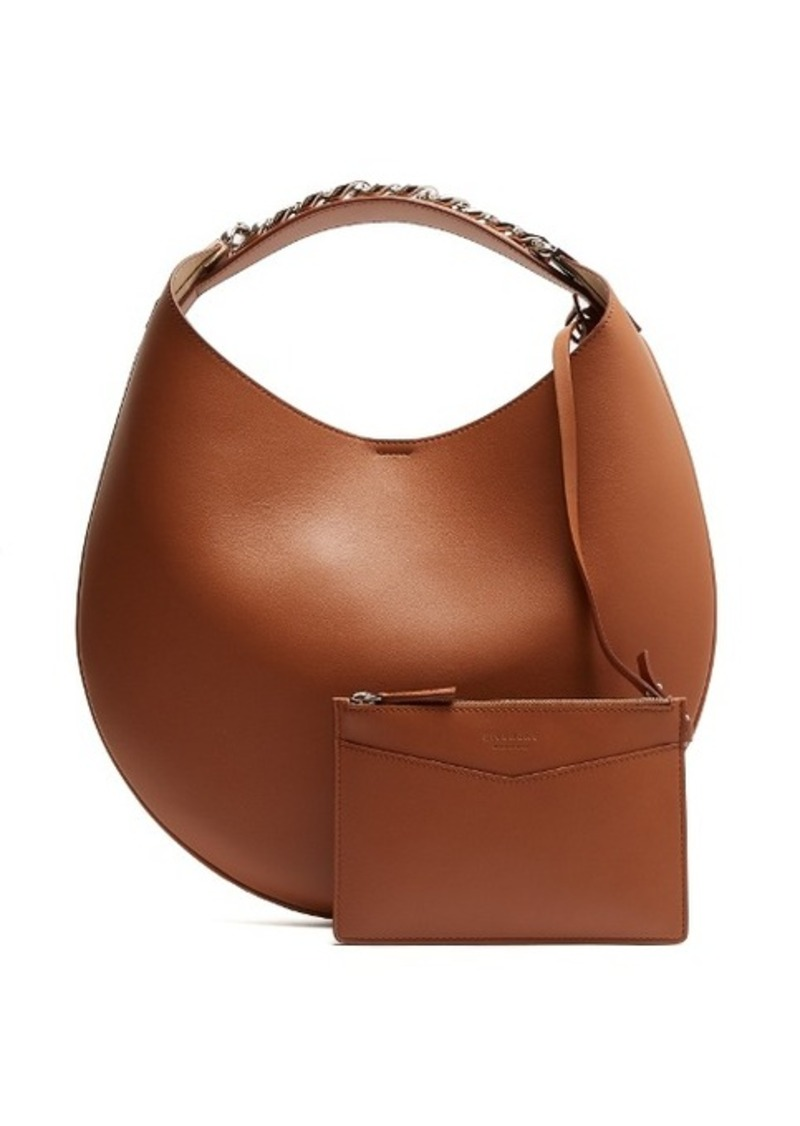36d9bbe70be Givenchy Givenchy Infinity small leather chain hobo bag | Handbags