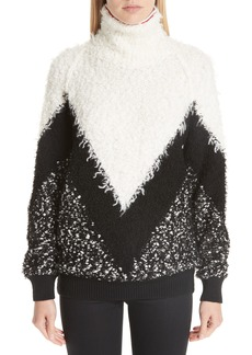 Givenchy Intarsia Chevron Sweater