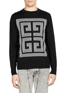 Givenchy Intarsia Logo Sweater