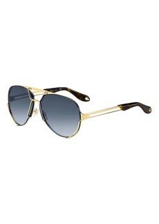 Givenchy Interchangeable Aviator Sunglasses