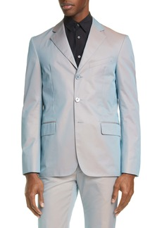 Givenchy Iridescent Three Button Sport Coat