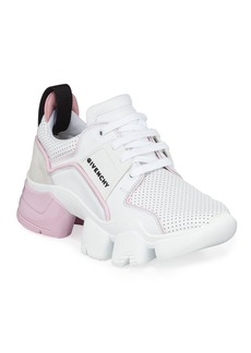 Givenchy Jaw Low-Top Leather Sneakers  White