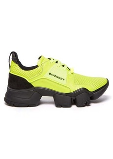 Givenchy Jaw raised-sole perforated-leather trainers
