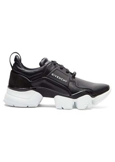 Givenchy Jaw raised-sole leather trainers