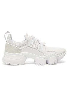 Givenchy Jaw raised-sole low-top leather trainers