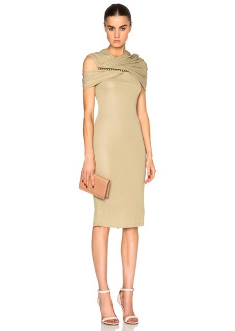 Givenchy Jersey Off Shoulder Dress