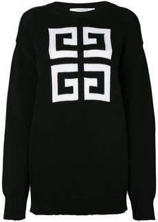 Givenchy knitted pattern jumper