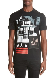 Givenchy LA House Graphic T-Shirt