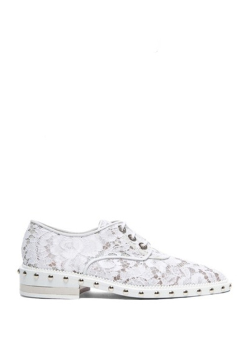 Givenchy Lace and Mesh Derby Shoes