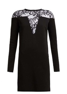 Givenchy Lace-embellished mini dress
