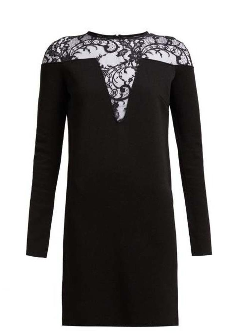 Givenchy Lace-embellished mini dress