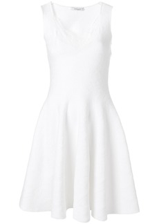 Givenchy lace flared dress - White