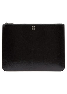 Givenchy Large leather zipped pouch