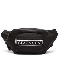 Givenchy Large logo-jacquard nylon belt bag