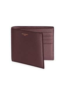 Givenchy Leather Bi-Fold Wallet