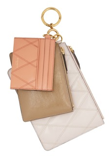 Givenchy Leather Card Case & Two Pouches Set