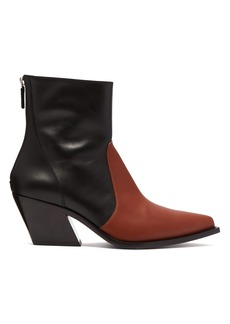 Givenchy Leather cowboy ankle boots