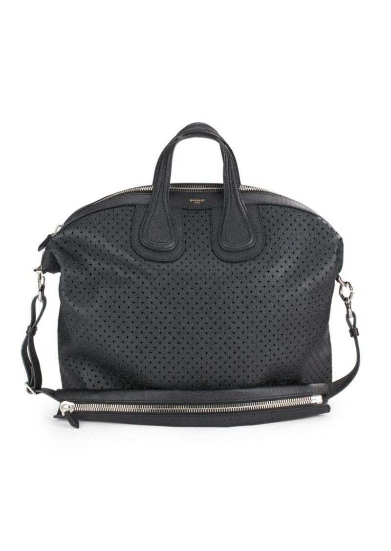 Givenchy Leather Cutout Duffel Bag