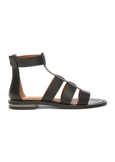 Givenchy Leather Gladiator Sandals