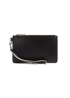 Givenchy Leather pouch with strap