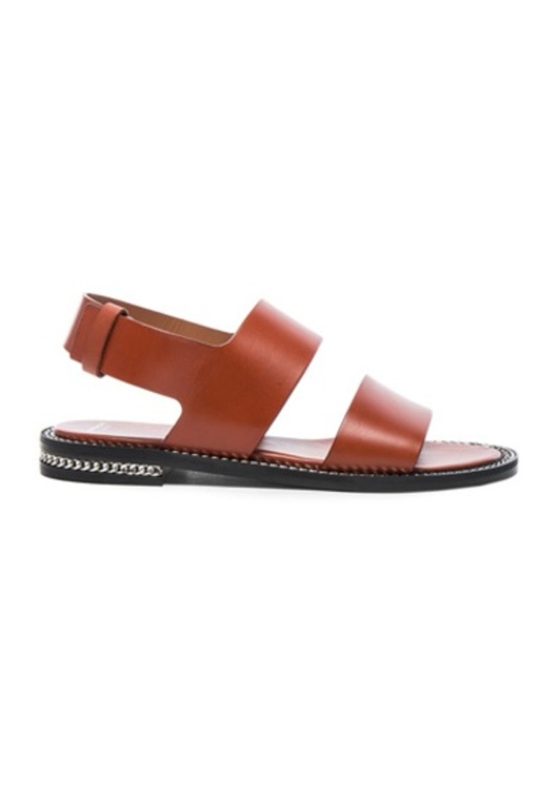 Givenchy Leather Romane Flat Sandals