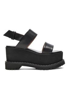 Givenchy Leather Ursa Flatform Sandals