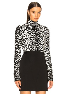 Givenchy Leopard Jacquard Sweater