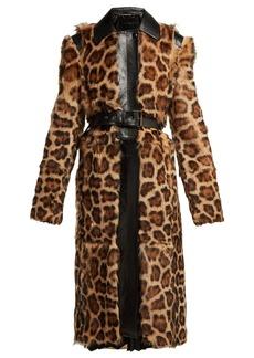 Givenchy Leopard-print shearling coat