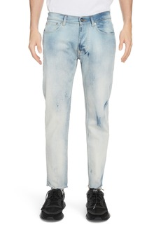 Givenchy Light Crop Skinny Fit Stretch Jeans